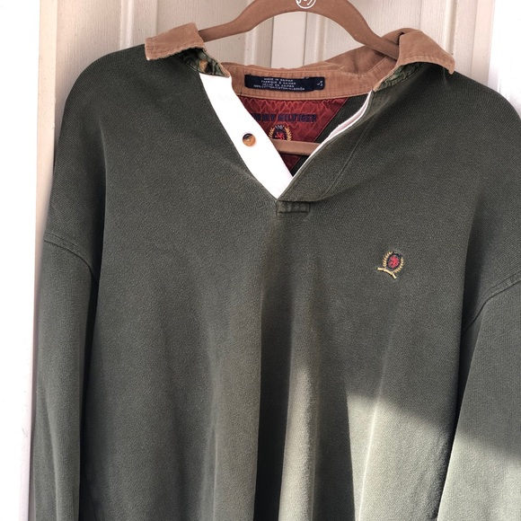 Tommy Hilfiger Other - Old school Olive green Tommy Hilfiger long sleeve